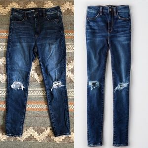 AE Next Level Super High Waisted Jegging Jeans